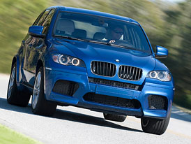 BMW X5 M: Zimní jízdní dojmy