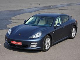 Porsche Panamera 4: První jízdní dojmy
