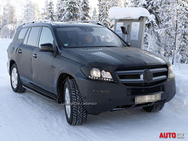 Spy Photos: Mercedes-Benz GL (X166) - Nové fotografie