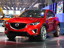 Mazda Minagi: Sériová podoba nového SUV už ve Frankfurtu