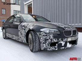 Spy Photos: BMW M5 - Přeplňovaný osmiválec v akci (video)
