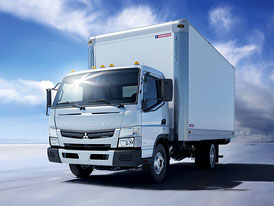 Mitsubishi Fuso Canter: Novinka pro Severní Ameriku