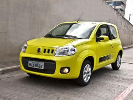 Fiat Uno 3D: Třídveřové Uno vstupuje na brazilský trh