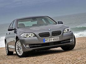 Český trh v únoru 2011: BMW 5 drtí konkurenci ve vyšší střední