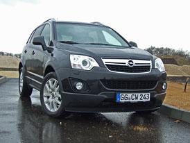 Opel Antara 2011: První jízdní dojmy