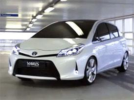 Video: Toyota Yaris HSD Concept – Malý hybridní hatchback