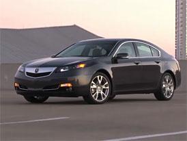 Video: Acura TL – Exteriér modernizovaného sedanu
