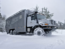 Mercedes-Benz Zetros 6x6: Pro lov a expedice v Mongolsku (nové foto)