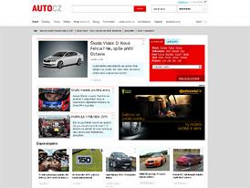 Auto.cz: Lehký facelift homepage a další novinky
