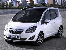 Opel Meriva Color Edition: Černá střecha pro kompaktní MPV