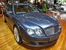 Bentley v Paříži 2008