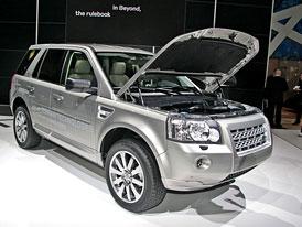 Land Rover v Ženevě 2009