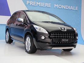 Peugeot v Ženevě 2009