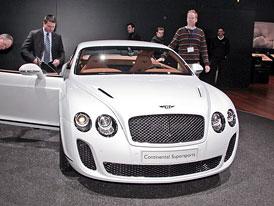 Bentley v Ženevě 2009