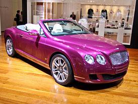 Bentley  v Ženevě 2010