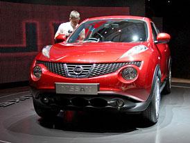Nissan v Ženevě 2010