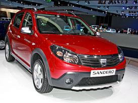Dacia ve Frankfurtu 2009