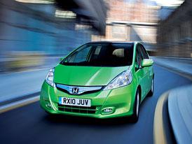 Honda Jazz: Příplatek za Hybrid 20 tisíc Kč