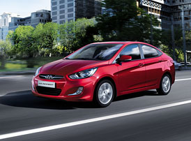 Hyundai i25 Accent: Malý sedan pro Panamu a Kolumbii