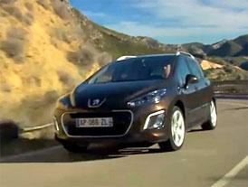 Video: Peugeot 308 SW � S novou p��d�