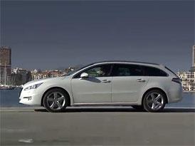 Video: Peugeot 508 SW – Staticky i v pohybu