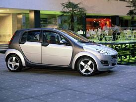 Brabus Smart Forfour: GTI v �e�i Smartu