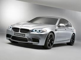 BMW Concept M5: Nová M5 se ukáže v Šanghaji