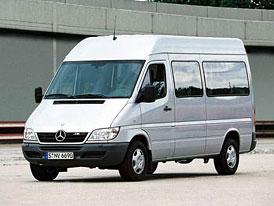 Mercedes-Benz Sprinter: novinky pro rok 2003