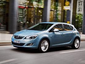 Opel Astra 2,0 CDTI Start/Stop: 118 kW se spotřebou 4,5 l/100 km