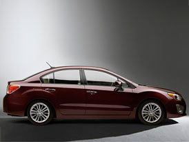 Nové Subaru Impreza v New Yorku: Bude to sedan