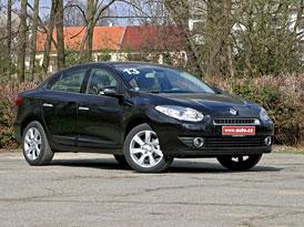 Renault Fluence 2,0 16V: První jízdní dojmy