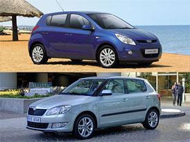 Hyundai i20 Inclusive vs. Škoda Fabia Magic: Co koupit?