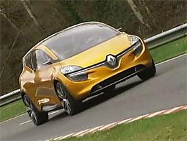 Video: Renault R-Space – MPV na testovací dráze