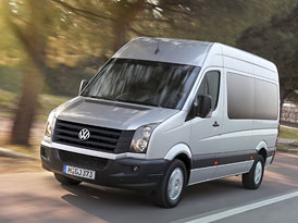 VW Crafter: Nové čtyřválce a facelift
