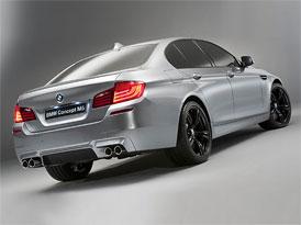 Nové BMW M5: Motor z X5 M a později i 4x4