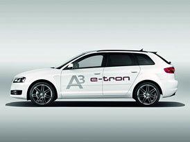 Audi A3 e-tron: První produkční elektro-Audi