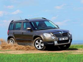Škoda Yeti 2,0 TDI 4x4 v dlouhodobém testu: Mechanické závady zatím nevymřely