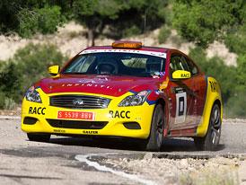 Infiniti G37: Kupé pro španělské rallye
