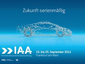 Frankfurtský autosalon 2011: Praktické informace