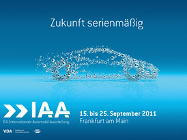 Frankfurtsk� autosalon 2011: Praktick� informace