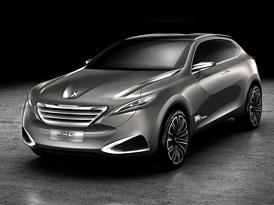 Peugeot SXC: Shanghai Cross Concept, benzinový hybrid s 230 kW