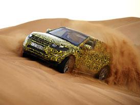 Range Rover Evoque: Off-road testování (fotogalerie+video)