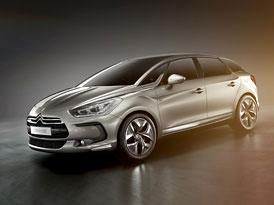 Citroën DS5 HYbrid4: První oficiální informace