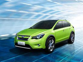Subaru XV Concept: Nová generace hatchbacku Impreza začíná jako allroad
