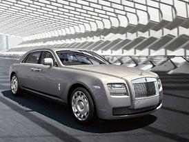 Rolls-Royce: Ghost Extended Wheelbase je první světovou premiérou v Číně