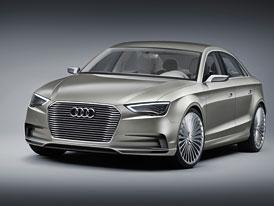 Audi A3 e-tron concept: Nová A3 sedan jako plug-in hybrid