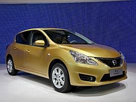 Nissan Tiida: Globální hatchback podruhé (foto živě)