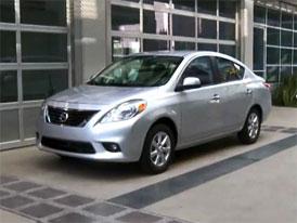 Video: Nissan Versa – Druhá generace sedanu