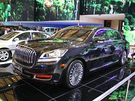 Geely Emgrand GE: Čínský Rolls zase s novou tváří