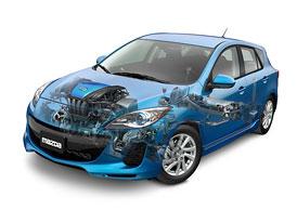 Mazda 3 SkyActiv: Nový motor a převodovka pro Severní Ameriku